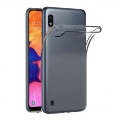 Samsung Galaxy A10 - silikonowe etui na telefon Clear Case - przezroczyste.
