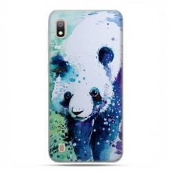 Etui case na telefon - Samsung Galaxy A10 - Miś panda watercolor.
