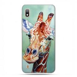 Etui case na telefon - Samsung Galaxy A10 - Żyrafa watercolor.