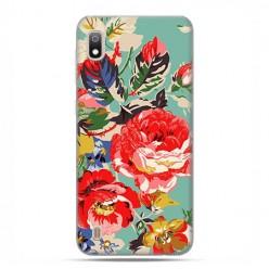 Etui case na telefon - Samsung Galaxy A10 - Kolorowe róże.