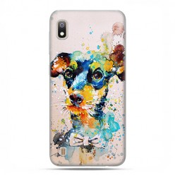 Etui case na telefon - Samsung Galaxy A10 - Szczeniak watercolor.