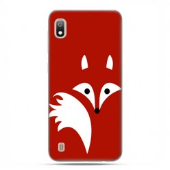 Etui case na telefon - Samsung Galaxy A10 - Czerwony lisek.