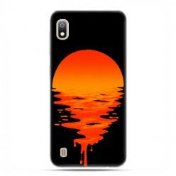 Etui case na telefon - Samsung Galaxy A10 - Zachodzące słońce.