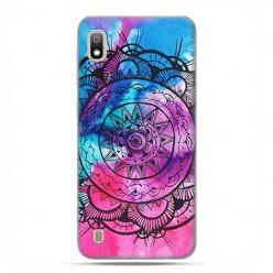 Etui case na telefon - Samsung Galaxy A10 - Rozeta watercolor.