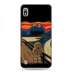Etui case na telefon - Samsung Galaxy A10 - Parodia obrazu krzyk.