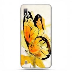 Etui case na telefon - Samsung Galaxy A10 - Motyl watercolor.