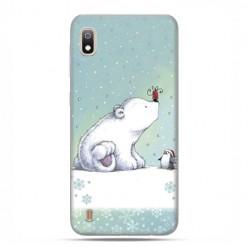 Etui case na telefon - Samsung Galaxy A10 - Polarne zwierzaki.